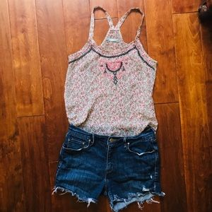 Babydoll, Sheer, Women's Tank Size S (Maurices)